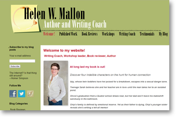 Helen Mallon website